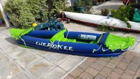 Brand New Inflatabile 2 Man Kayak