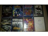 playstation 2 games x10 plus 2 pc games (bargain)