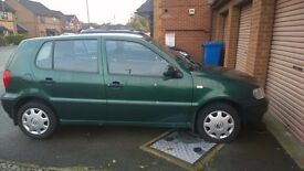 green Volkswagen polo for sale 2001