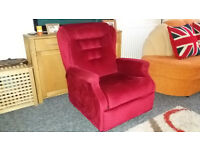 Armchair in very good condition. Oldstyle. Can arrange free delivery door to door in Bournemouth.