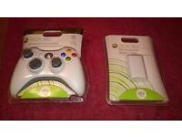 As New - Xbox 360 Wireless Controller and Rechargeable Battery pack - Still in Packaging