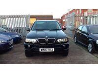 BMW X5 3.0 AUTO, FSH, LEATHERS, PRIVACY WINDOWS!