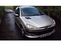 Peugeot 206 1.4 Quiksilver mot April 2017 good condition clean straight car