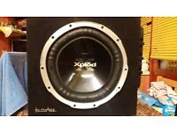 SONY SUBWOOFER AN AMP