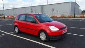 Ford Fiesta 1.3 5 Door Full History Long MOT Economy Like Yaris Polo Jazz Corsa Delivery Possible