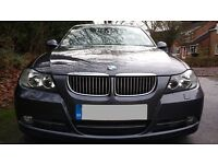 2007 BMW 330D * SUPERB CONDITION * FSH * 6-SPEED MANUAL * M-SPORT LEATHER * HPI CLEAR * E90 * MSPORT