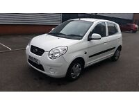 2010 KIA PICANTO 1cc MANUAL PETROL VERY LOW MILEAGE ONLY 35000