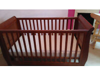 Mamas & Papas Mia cot bed,cot changer,high chair,Fisher Price jumperoo,Travel cot,baby clothes