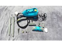 Polti Vaporetto 950 steam cleaner, bag and accessories