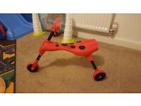 Ladybird trike for 1-2years old