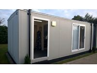 Excellent 12x23 portacabin with toilet for sale