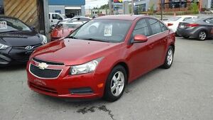 2011 Chevrolet Cruze LT Turbo,AUTOMATIQUE,CRUISE, A/C,