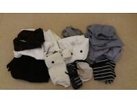 Selection of chefs whites all laundered and all medium to large in size