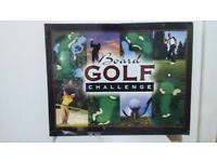 Complete Golf In A Box Board Golf Challenge Board Game New