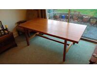 Beautiful hardwood table