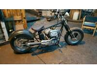 Harley Davidson chop bobber project