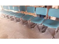 Office chairs with chrome frames 8 available