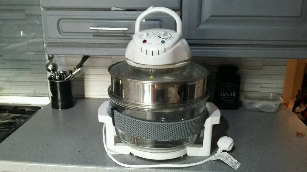 Halogen oven used twice perfect working order