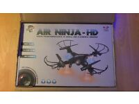 Easter Gift ? Fantastic Drone Camera Air Ninja HD High Performance Helicopter Quick Charge Brand New