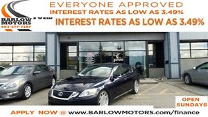 2008 Lexus GS 460 FULLY LOADED**AMVIC INSPECTION & CARPROOF PROV