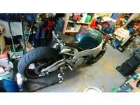 Yamaha YZF750R Streetfighter project