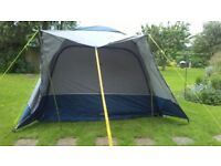 Awning Caravan and Motorhome Freestanding Drive-away Awning and Camp Beds