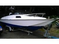 Tremlet 21ft fast Fisher cabin boat