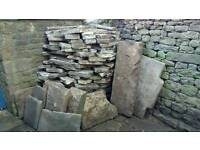 Stone Slabs & Crazy paving