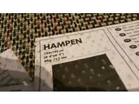 Black Ikea rug