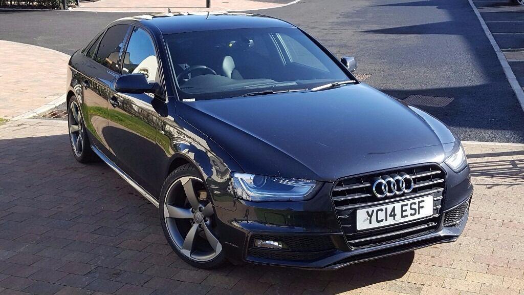 Audi A4 S Line Black Edition Tdi Moonlight Blue In