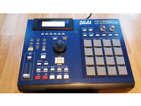 Akai mpc 2000 xl blue Midi Production Center 2000xl sd cf