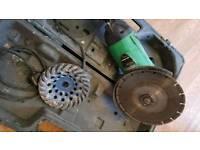 Hitachi g23ss disc cutter angle grinder