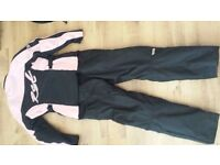 RST pink and black bike textiles