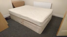 Used double Divan bed