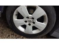 Vauxhaull 16 inch alloys