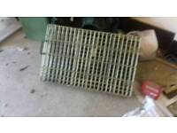 SMALL FOLD UP DOG CAGE IN GOOD CONDITION