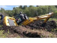 Digger excavator 4 to 8 ton slew