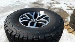 Tire & Rims Sets at Auction - Ends March 20th