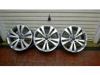 Genuine VW Eos 18inch Chicago Alloys x 3