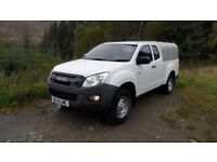 2013/13 Isuzu D-max Extended Cab Pick Up 2.5 TD - £10,995+ v.a.t - 1 Owner from new and FSDH