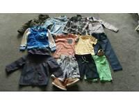 Large Bundle of Boy's Clothes 2-3 yrs