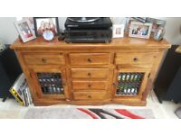 Sheesham Jali Wood Sideboard or TV Stand