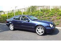 Mercedes clk 230 kompressor full service history 117k Merc not bmw audi seat