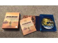 Star Wars Complete Saga on 9 Blu-ray Discs