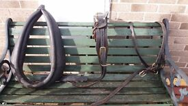 Pony harness with neck collar -rare