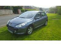 Peugeot 307 1.6 hdi sport, 2008, motd, good condition, PX welcome