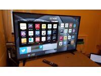 LUXOR 50 TV 4K SUPER Smart HD TV,built in Wifi,Freeview HD, NETFLIX, Ex-Display/NEW