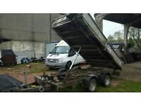 2009 iforWilliams tt126 3500kg tipping trailer no vat