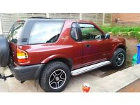 VAUXHALL FRONTERA 2.2 16 V SPORT £600 ALLOYS TYRES MOT AND TAXED