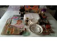 Job lot approx 78 Car Boot Sale items including many Vintage.